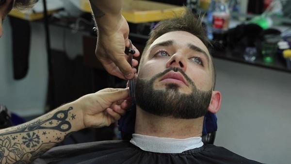 Фигурная стрижка бороды в Минске